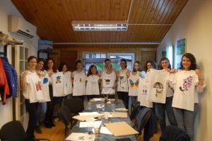 teambuilding pictura pe tricouri
