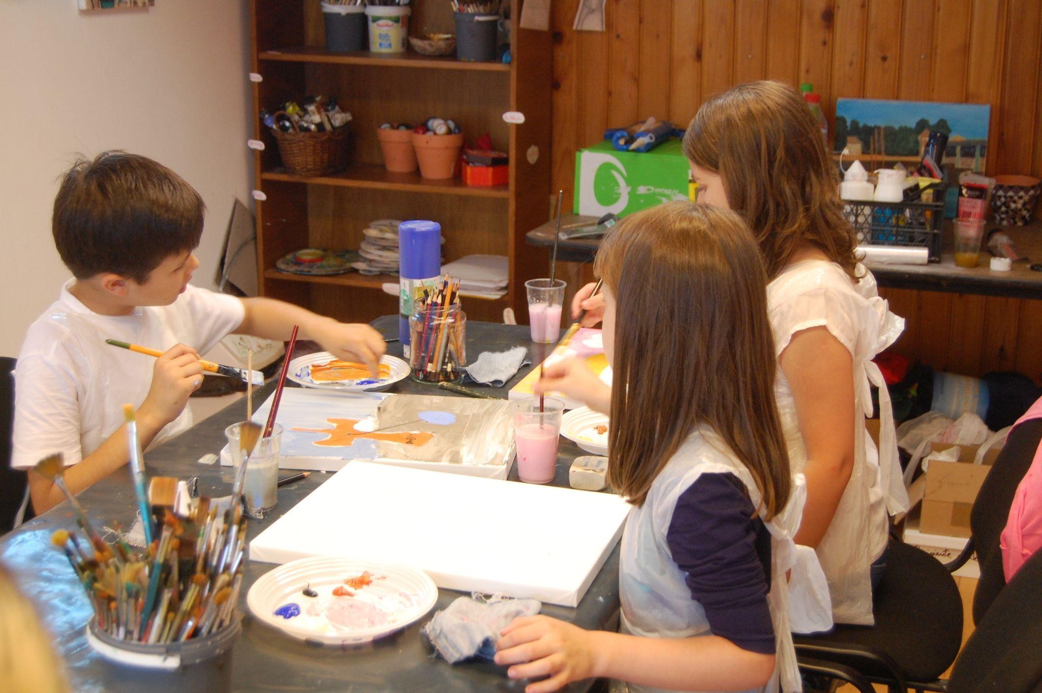 cursuri de artă pentru copii